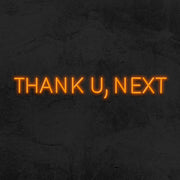 thank u next neon sign led mk neon