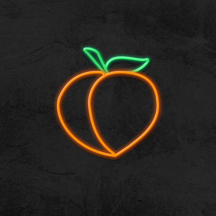 apricot neon sign led home decor mk neon