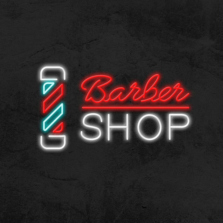 Barbershop Signage - LED Neon Sign