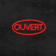 ouvert neon sign led restaurant mk neon