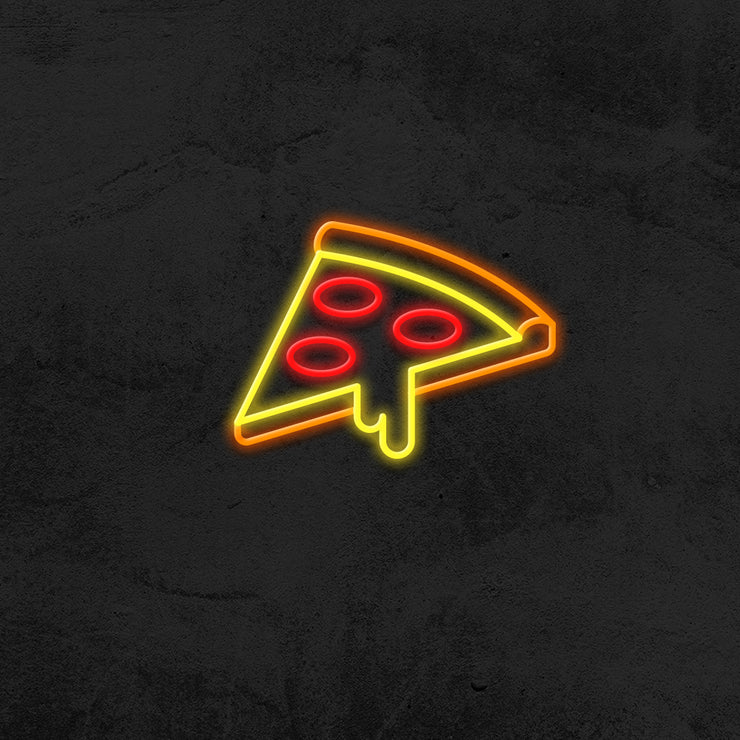 pizza neon sign led restaurant mk neon