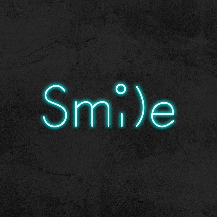 smile neon sign led dentist mk neon