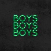 Boys boys boys neon sign led home decor mk neon