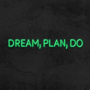 dream plan do neon sign led mk neon