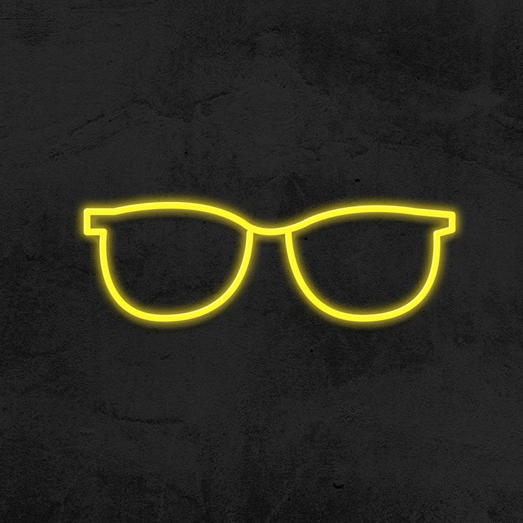 glasses neon sign led optician mk neon