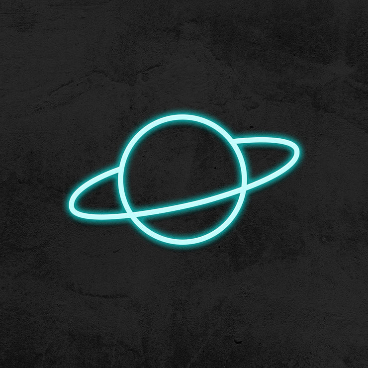 planet neon sign LED kid room mk neon