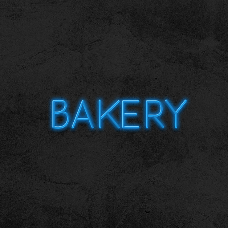 bakery neon sign led mk neon