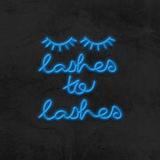 lashes to lashes neon sign led mk neon