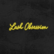 lash obsession neon sign led mk neon