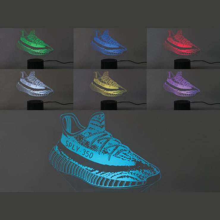 Adidas Yeezy Boost 350 V2 - Sneaker LED Lights - MK Neon