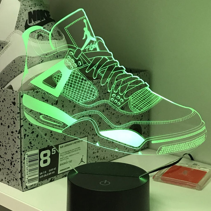 Air Jordan 4 - Sneaker LED Lights - MK Neon