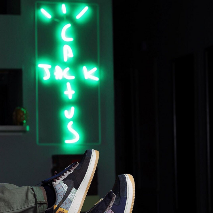 Cactus Jack by Travis Scott LED Neon Sign - MK Neon