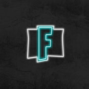 Fornite logo neon sign kid room mk neon