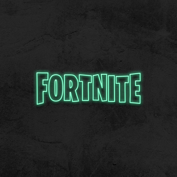 fornite neon sign led kid room mk  neon