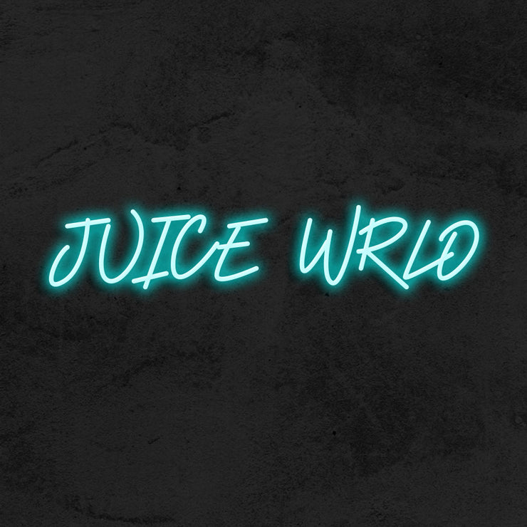 Juice wrld neon sign hype mk neon