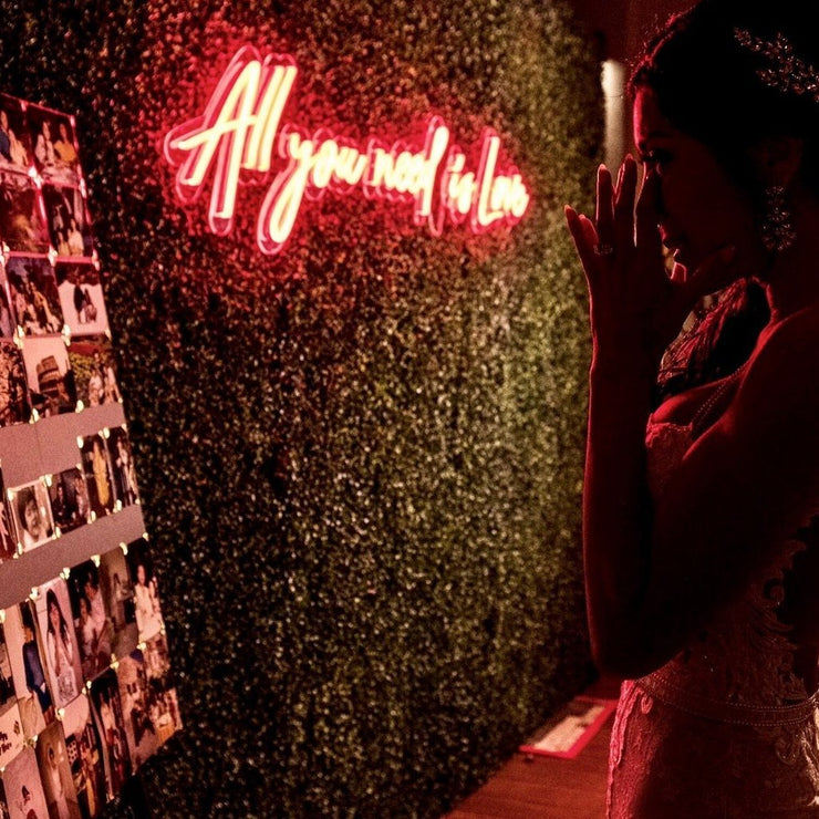 All you need is Love - LED Wedding Neon Sign - MK Neon