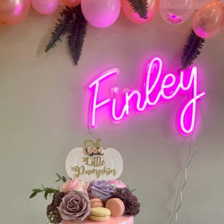 Neon Signs for Baby Shower - MK Neon