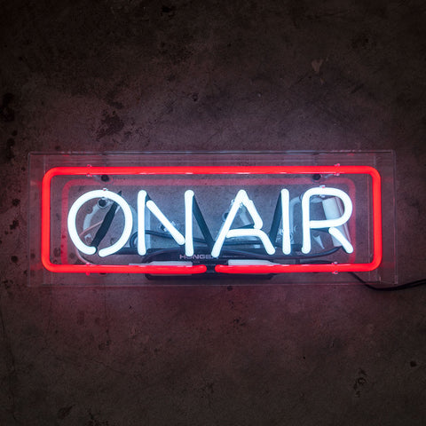 ON AIR Neon Sign in Acrylic Box - MK Neon
