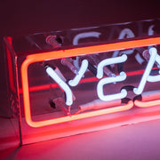 YEAH Neon Sign in Acrylic Box - MK Neon