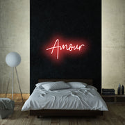 Amour - LED Neon Sign - MK Neon