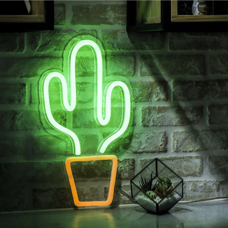 Cactus - LED Neon Sign - MK Neon