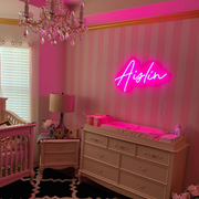 Custom Neon Signs for Nursery - MK Neon