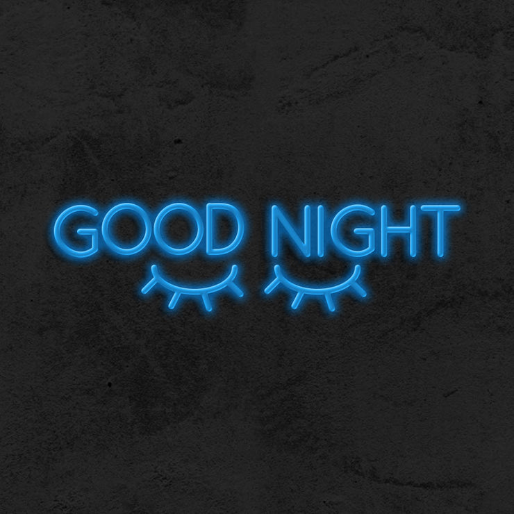 Good Night - LED Neon Sign