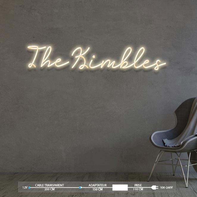The Kimbles - LED Neon Sign
