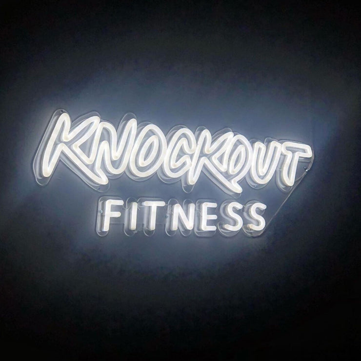 Custom Neon Signs for Gym MK Neon