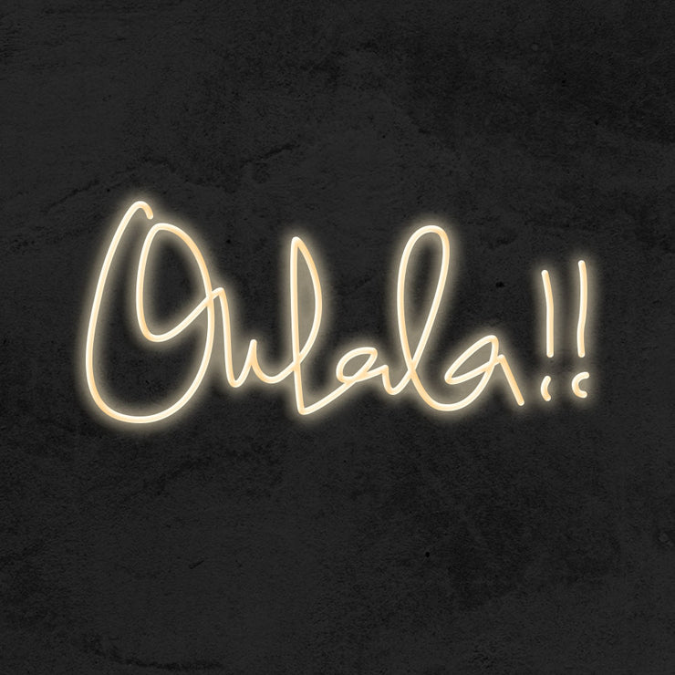 ohlala neon sign led mk neon