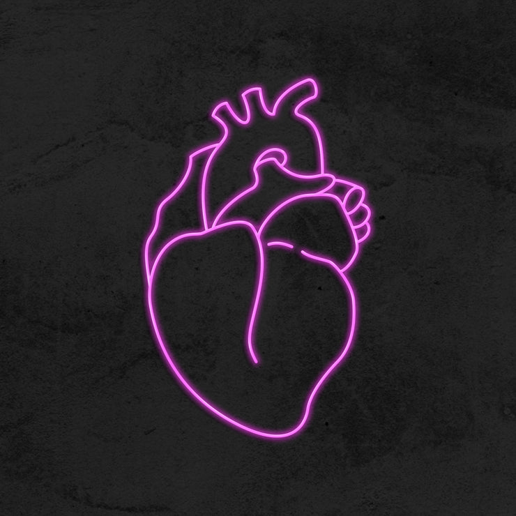 Real Heart - LED Neon Sign
