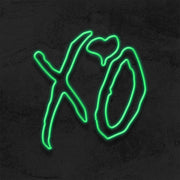 xo neon sign the weeknd led neon sign