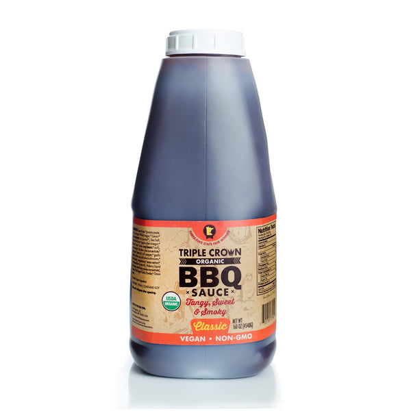 Triple Crown Organic BBQ Sauce Classic (160oz 1-pack)