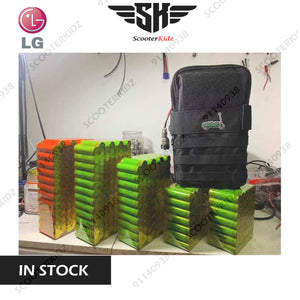 Custom Battery Pack (LG Cell) 1 year warranty