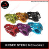 2018 KRSEC Mountainbike Short Stem 31,8 * 28,6 * 45mm aluminum CNC steering rack for XC BIN DH bike parts 6 color