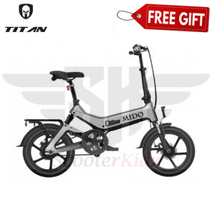 SK MIDO eBike PAB LTA Approved Electric Bicycle [36v 8.7ah Samsung Battery]