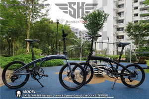 NEW SK TITAN 168 Version 2 with 9 Speed LITEPRO Version  [Assembled in TAIWAN] 11.3 kg