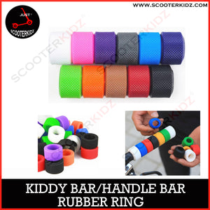 Propalm Rubber Grip Ring Mix and Match for Handlebar Rainbow Silicone