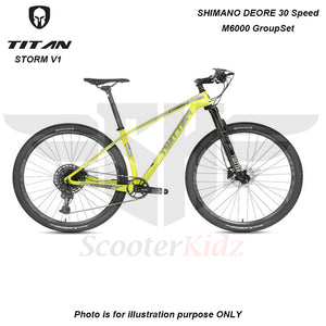 SK STORM V2 Carbon Frame T800-18K Mountain Bike 29inch with Hydraulic Brake