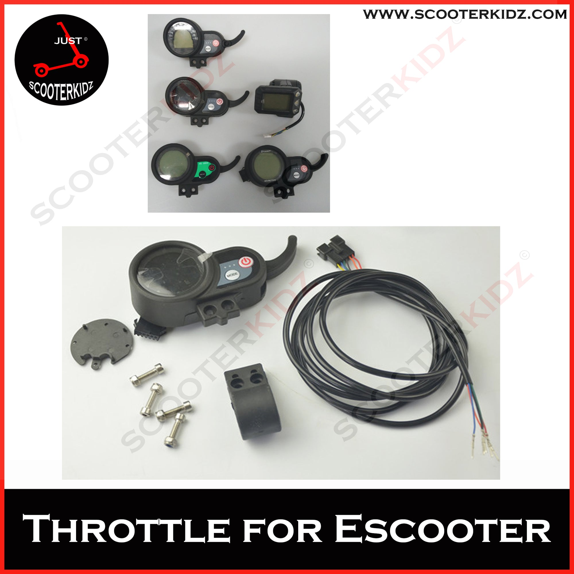 Throttle for All Electric Scooter
