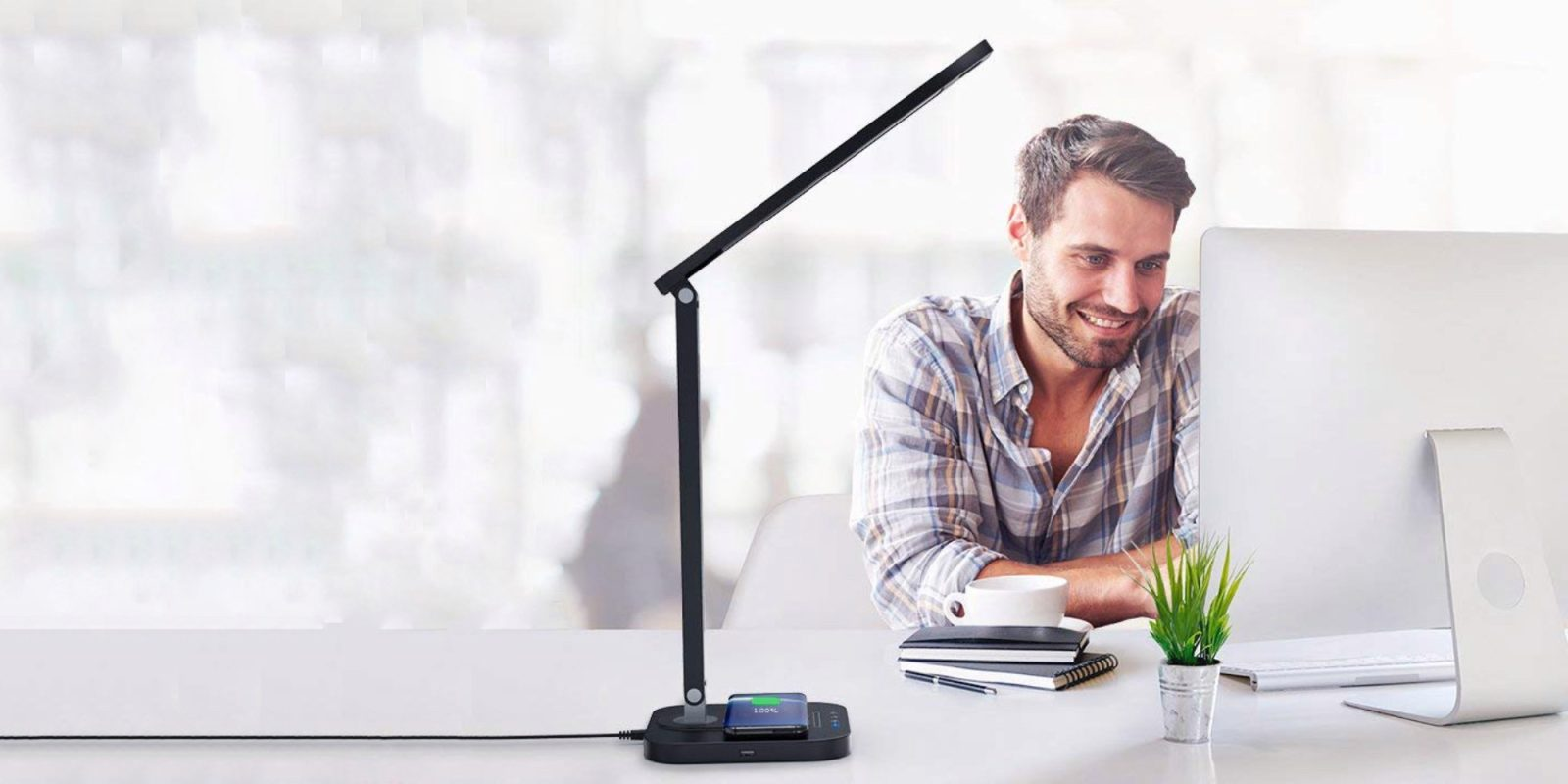Best Desk Lamps with Wireless Charger 2020