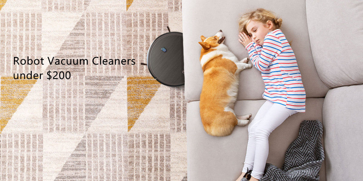 Best Robot Vacuum Cleaners under $200