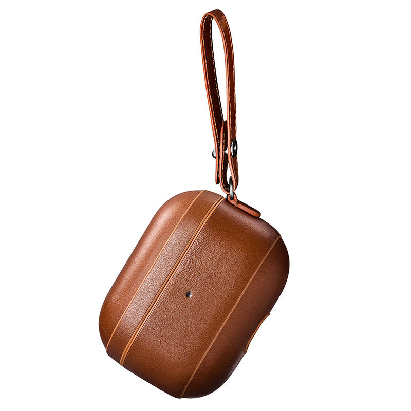 Airpods Pro Leather Case with Strap