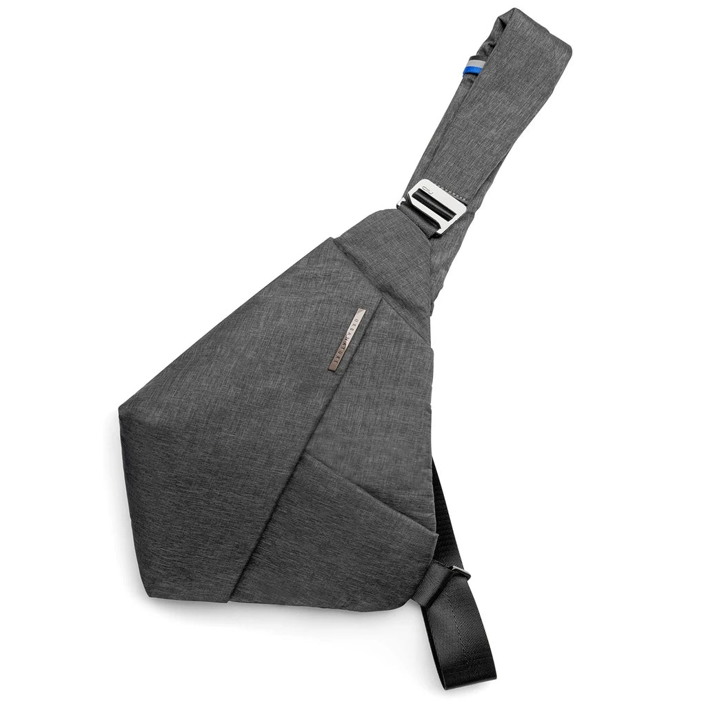 FINO Sling Chest Bag - Gray Right Hand