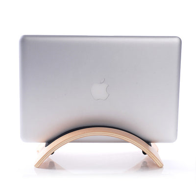 Wooden Vertical Stand Rack for Macbook
