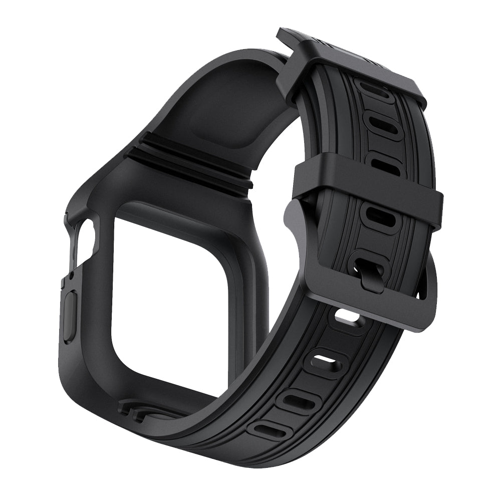 Silicone Strap+Case for Apple Watch Band