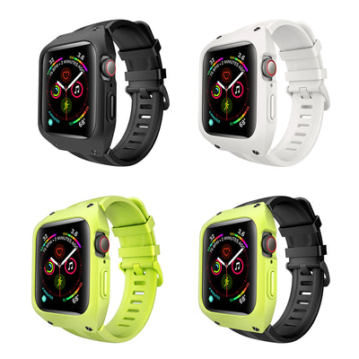 Silicone Sport Band + Case For Apple Watch