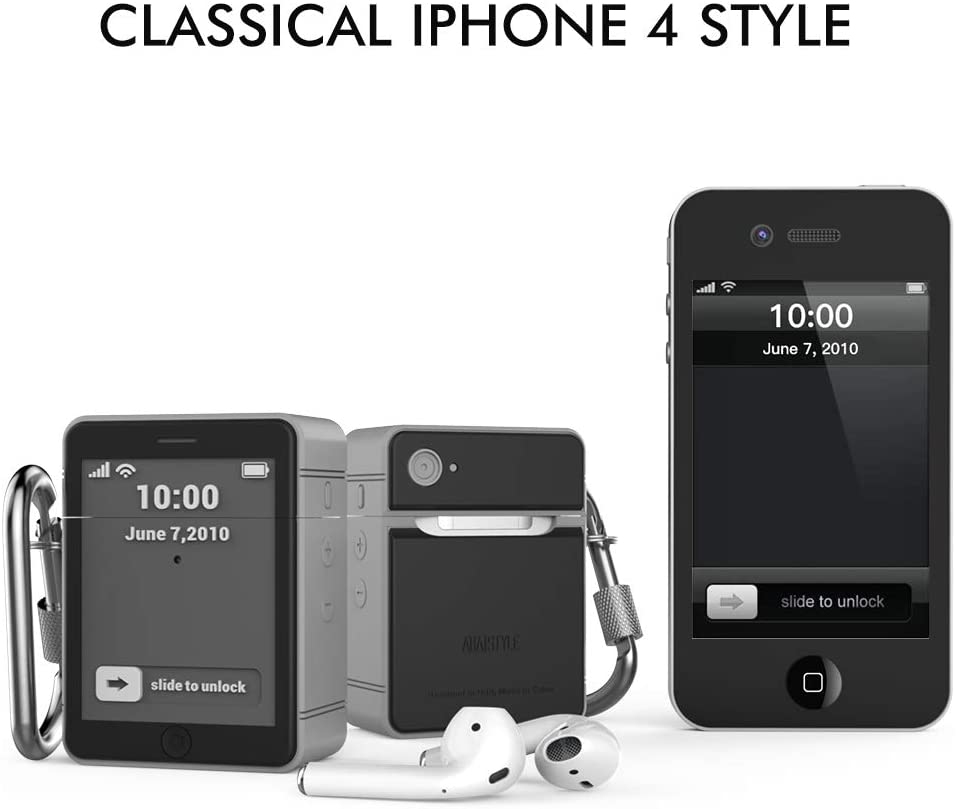 AirPods Case Classic iPhone 4 Design