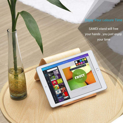 Top Seller Wooden Stand for iPad/Tablet