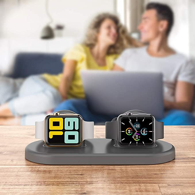 Dual Apple Watch Charging Stand